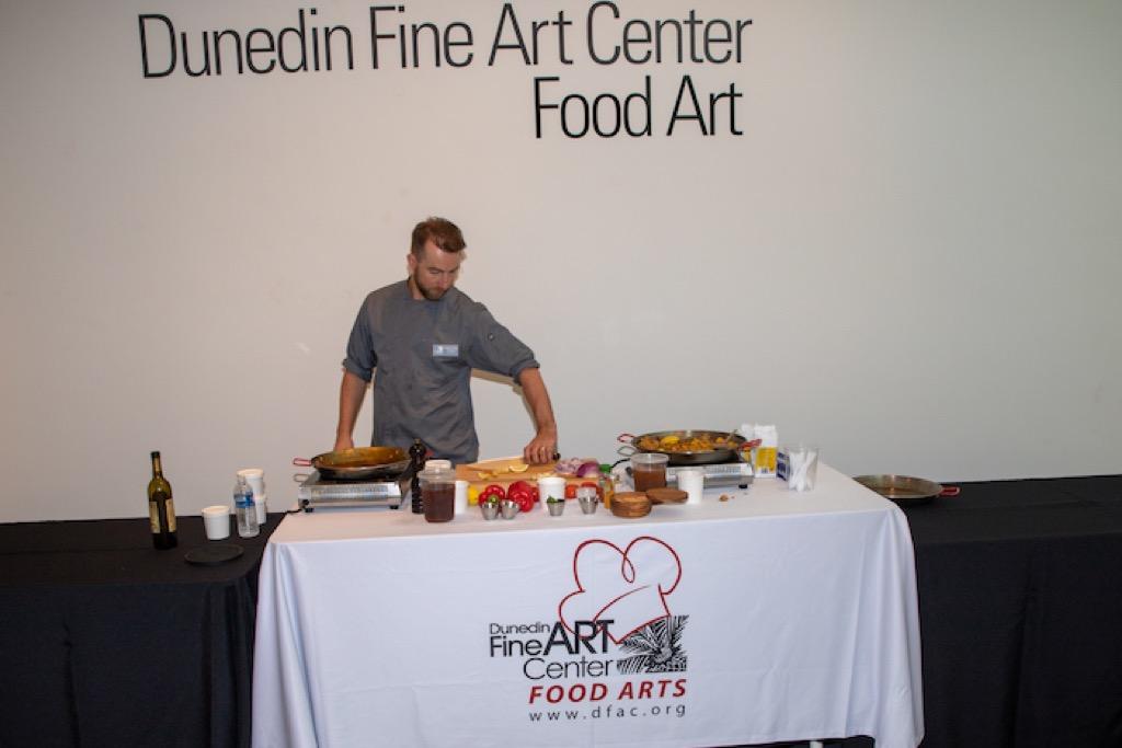 Food Art demonstrator