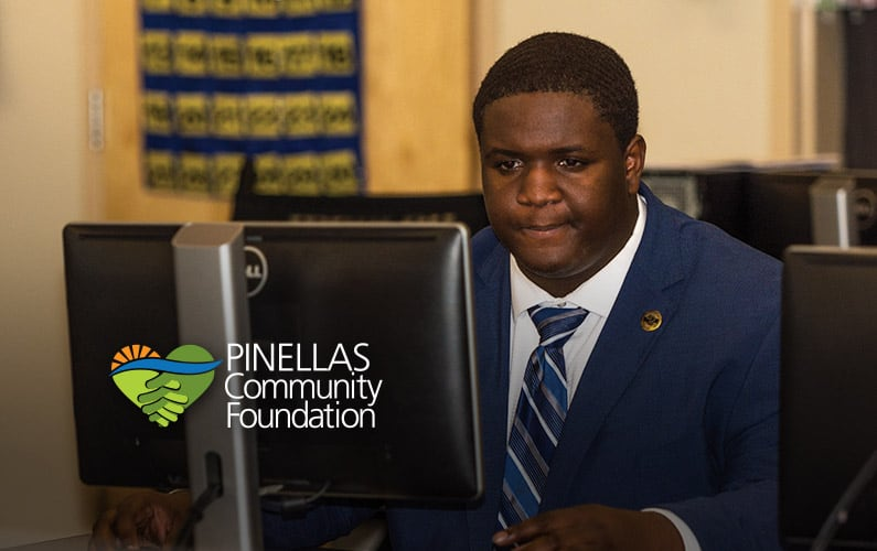Christopher Kelly is a College Fund of Pinellas scholarship recipient