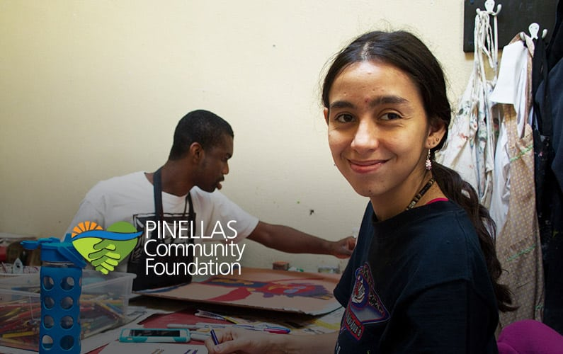 Creative Clay artists with disabilities benefit from PCF funds for arts education in St. Petersburg.