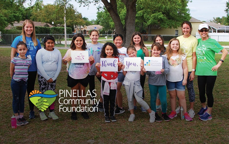 Girls on the Run participants flourish with PCF grant support.