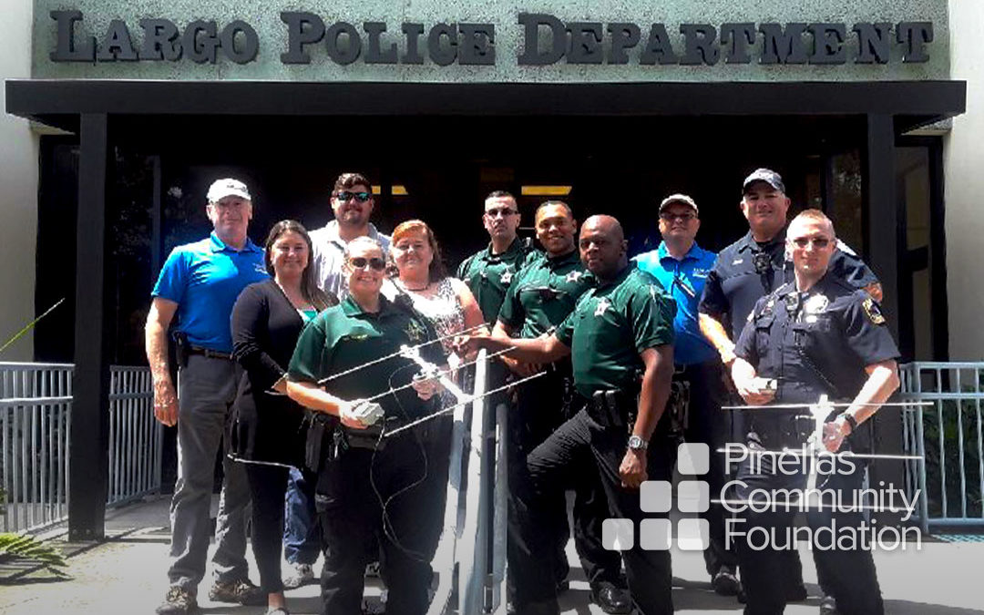 Largo Police Department purchases senior tracking devices funded by PCF.