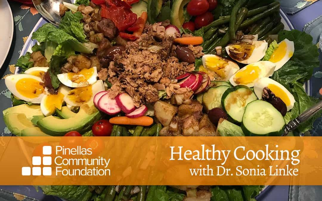 In My Salad Days, Healthy Cooking with Dr. Sonia Linke