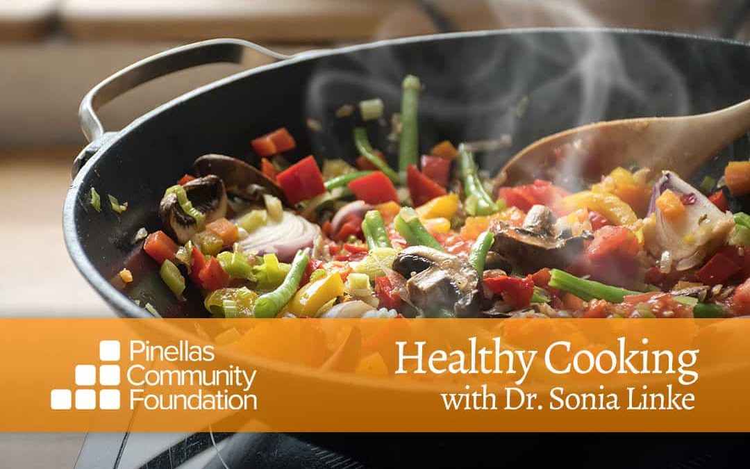 Stir-Fry Chicken and Cantaloupe, Healthy Cooking with Dr. Sonia Linke