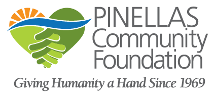 Pinellas Community Foundation logo in full-color with gray type