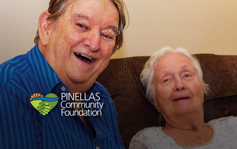 Caregiver Ted and his Aunt Shirley still enjoy each other thanks to respite care funded by a PCF grant.